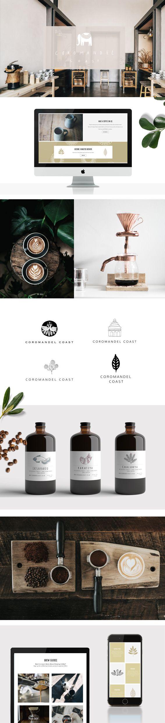 Coffee company branding by Ryn Frank www.rynfrankdesign.co.uk