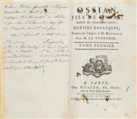 NAPOLEONICA - James Macpherson. Ossian, Fils de Fingal. #Napoleon #Bonaparte #Koller #Auktionen #Auctions