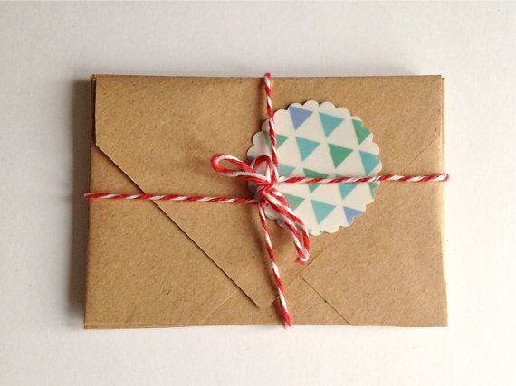 Stationary Set Mini Cards with Envelopes, Stickers,  Snail Mail Kit on Etsy, 8,50€