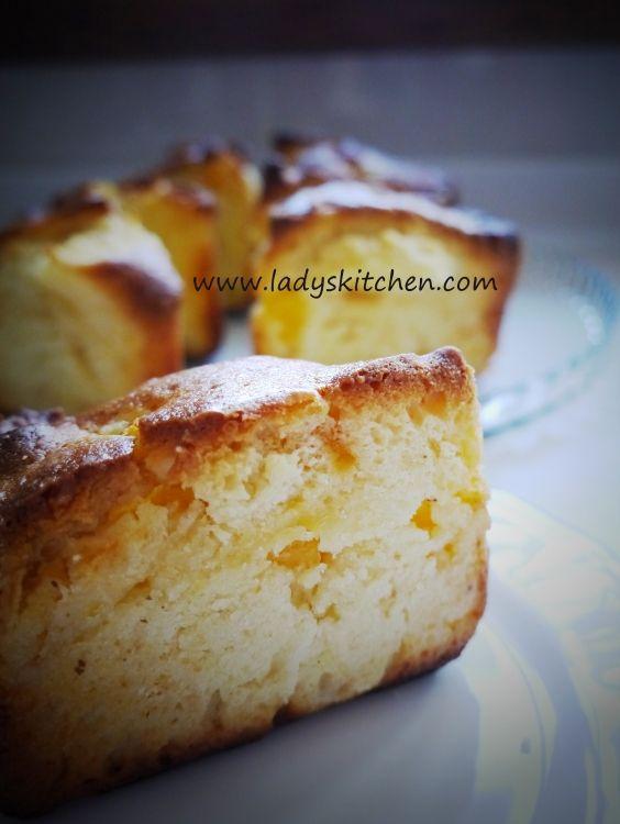 Küp Küp Şeftalili Harika Kek…