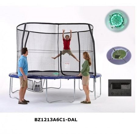 Bazoongi 12Ft Trampoline With Enclosure is now available with shipping absolutely free. Click on the image above and check out some of the other striking features about this trampoline.