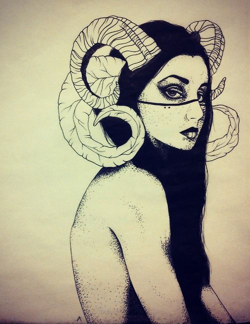 the look in her eyes is amazing! Find out more about #Aries: www.theAstrologer.com/Aries