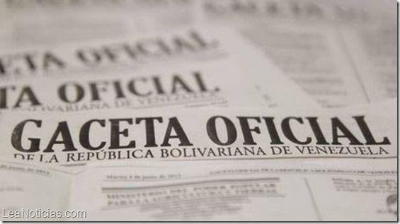 Desde el 15 de octubre se podrá obtener la certificación digital de la Gaceta Oficial - http://www.leanoticias.com/2014/09/26/desde-el-15-de-octubre-se-podra-obtener-la-certificacion-digital-de-la-gaceta-oficial/