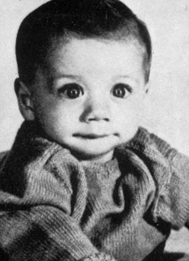 Before they were famous - John Travolta - Just look at those eyes - Adorablel!
