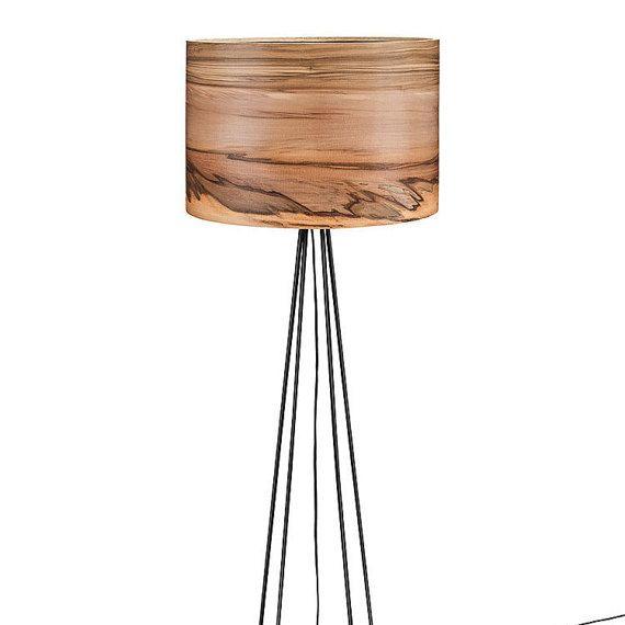 floor lamp wooden lamp modern floor lamp natural wood shade veneer floor lamp lampshades wood lamps