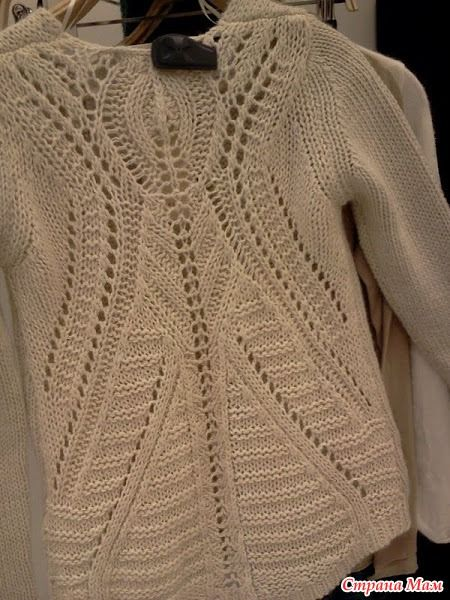 Всем привет! Меня зовут Настя и ко мне на ты  Вязать мы будем пуловер с ажурной спинкой.  Опрос проходил здесь http://www.stranamam.ru/