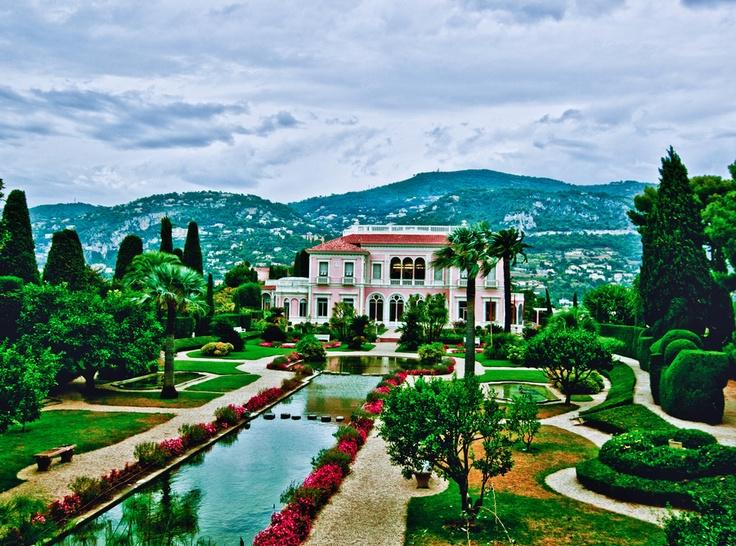 Villa Rothschild.Côte d'Azur Venue