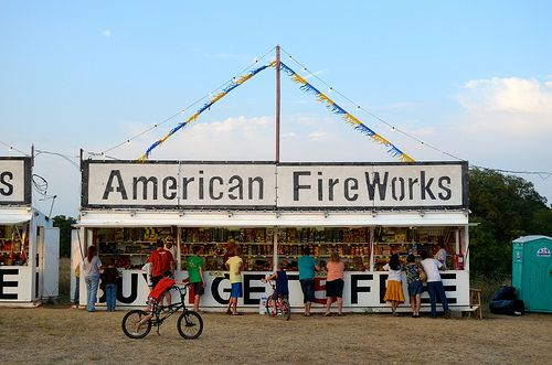 The Local Fireworks Stand