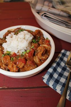 Try this delicious Crawfish Etouffee recipe from Emeril's