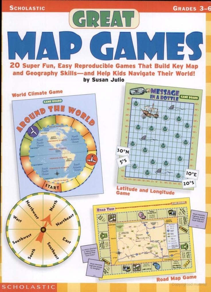 Looks like a fun way to learn map skills.