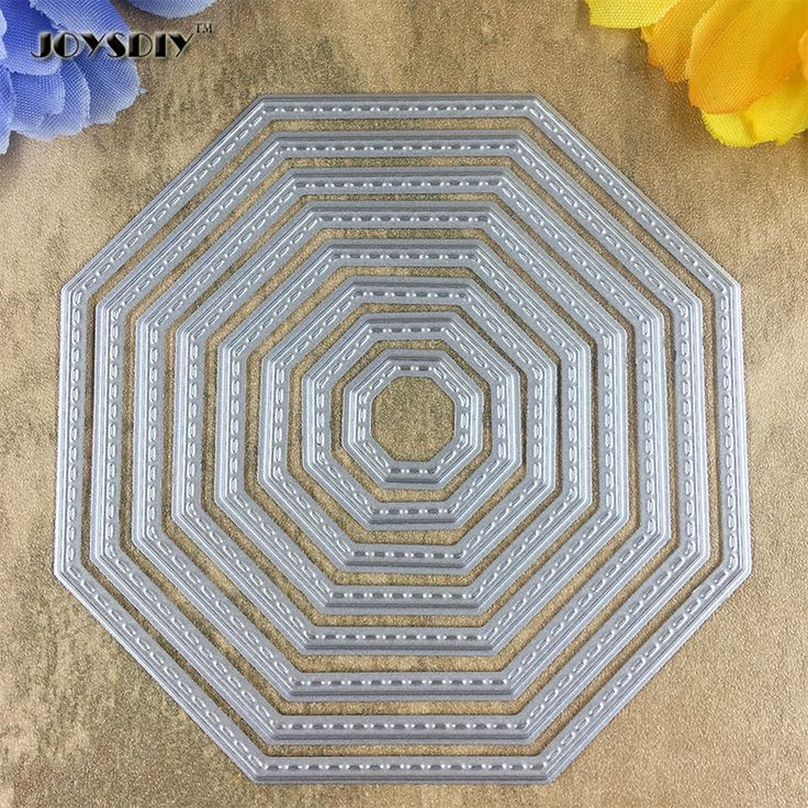 8 Pieces Of Octagon Card Maker Metal Die Cutting Dies For DIY Scrapbooking Photo Album Decorative Die Cutting Template -in Cutting Dies from Home & Garden on Aliexpress.com   Alibaba Group