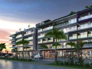 The City Condo building Playa Del Carmen
