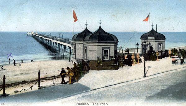 Redcar Pier circa 1900