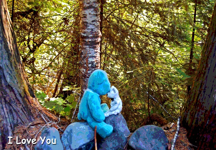 You are always in my Heart  http://www.cafepress.com/bluebearlovesu.323536650