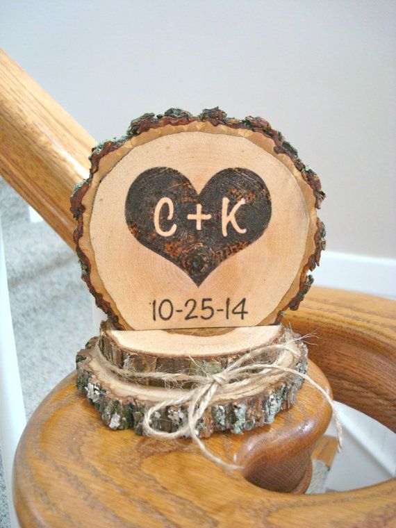 17 Best ideas about Rustic Cake Toppers on Pinterest Rustic cake