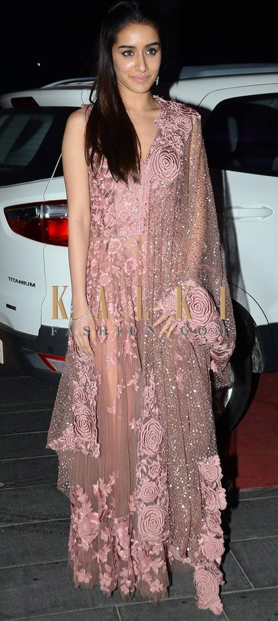Must have Bollywood Style! Find a style match to the celebrity look of your choice @http://www.kalkifashion.com/salwar-kameez.html: