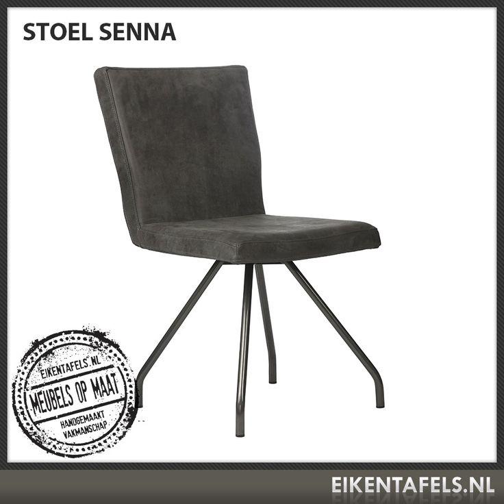 http://www.eikentafels.nl/product,Stoel+Senna,384 , Stoel Senna: Onze stoel Senna is een modern vormgegeven stoel die niet misstaat in bijvoorbeeld eet- of woonkamers, maar ook uitstekend dienst doet in wachtkamers. De bekleding kan in kunstleer, meerdere soorten echt leder of stof worden uitgevoerd. Ook bij deze stoel hebben wij dé perfecte eiken tafel voor in uw eetkamer of vergaderruimte. Eikentafels.nl maakt immers uw tafel op maat, geheel volgens uw wensen, met een door u gekozen…
