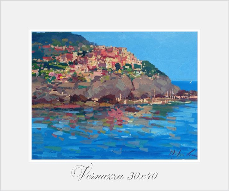 Vernazza 30x40 oil on canvas