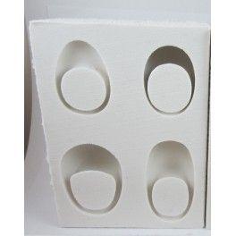 Ring mold deep models  Moule pour bagues épaisses. Mal voor dikke ringen maken.