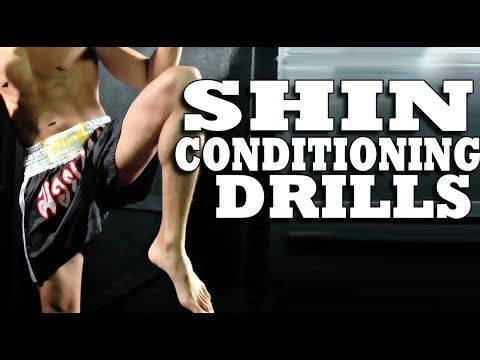 The Right Way to Condition Shins for Muay Thai