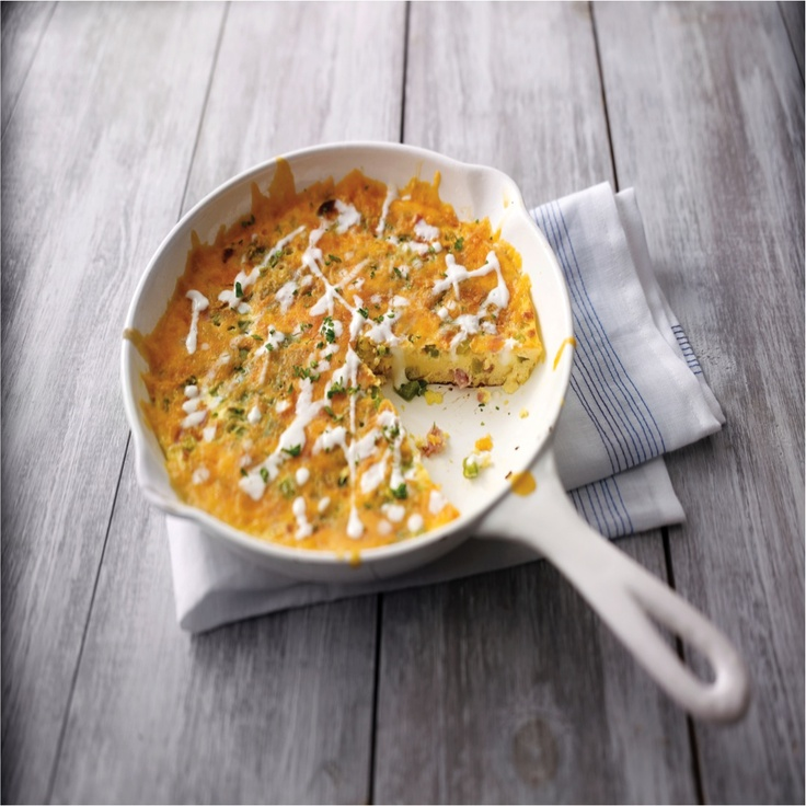 Country Frittata From Philadelphia Cooking Creme Recipe