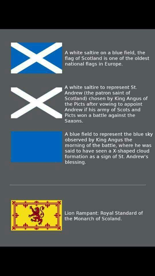 Information About The Scotland Flags Going To