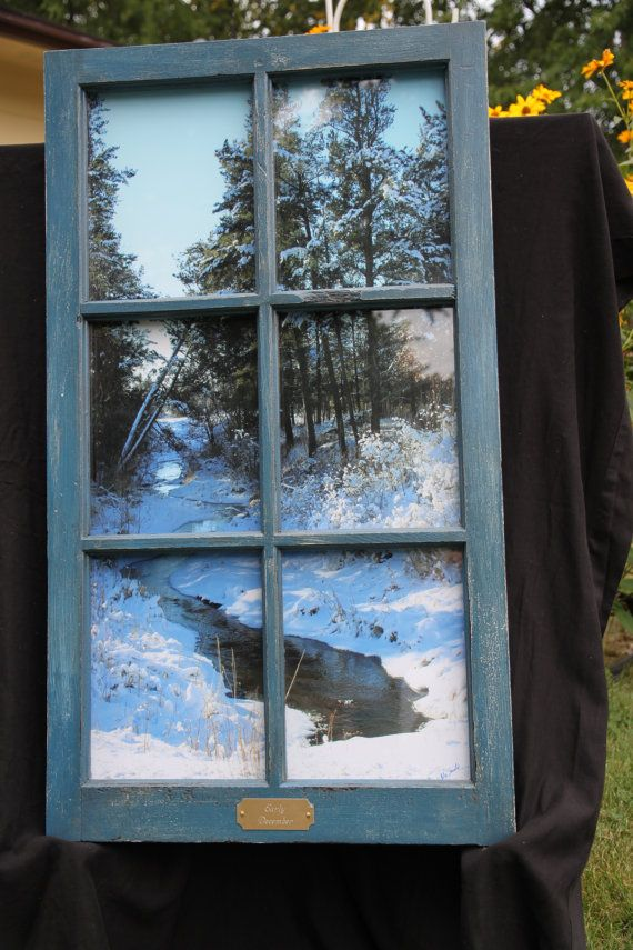 recycled window; use in a windowless bathroom