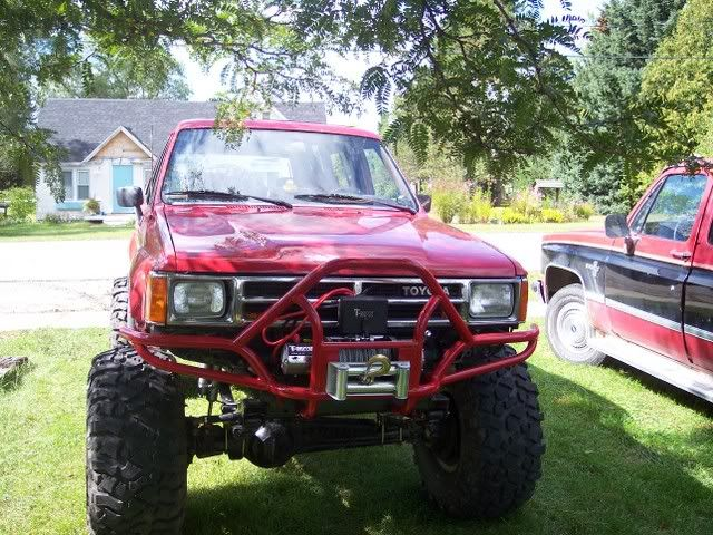 post up your 1st gen 4runner front bumper - Page 2 - Pirate4x4.Com : 4x4 and Off-Road Forum