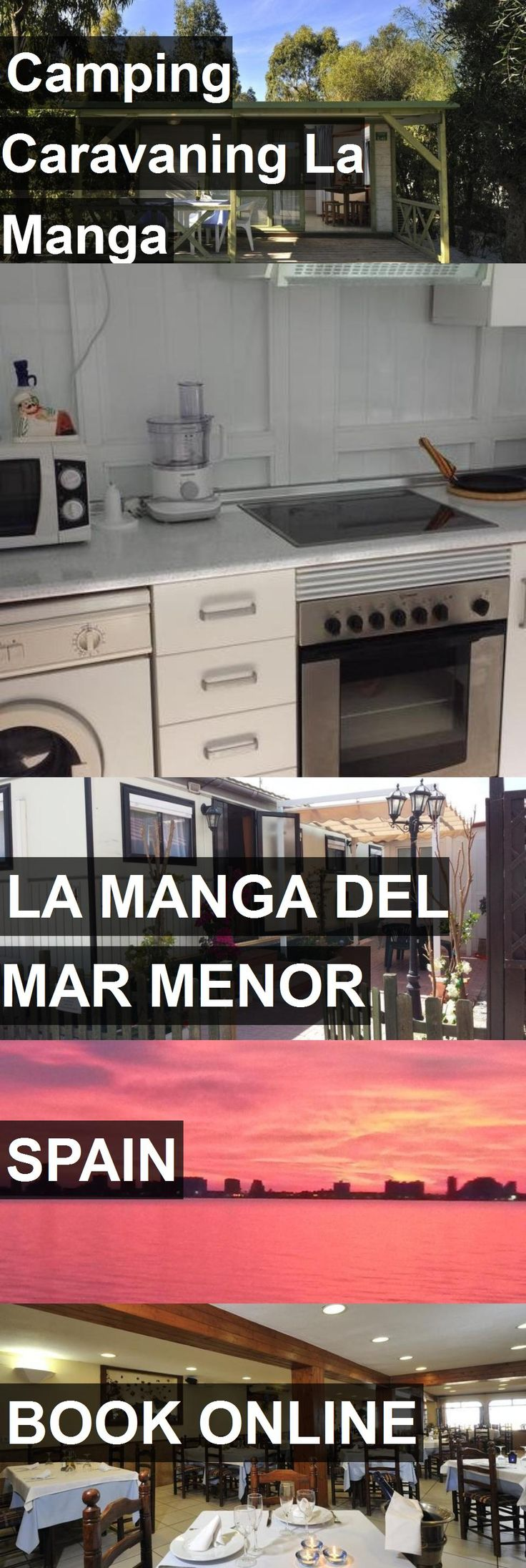 Hotel Camping Caravaning La Manga in La Manga del Mar Menor, Spain. For more information, photos, reviews and best prices please follow the link. #Spain #LaMangadelMarMenor #travel #vacation #hotel