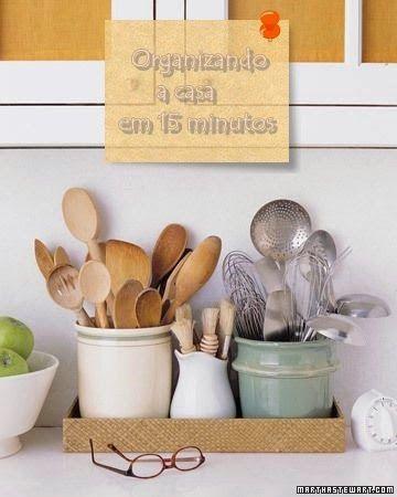 Organize sua casa em 15 minutos diários