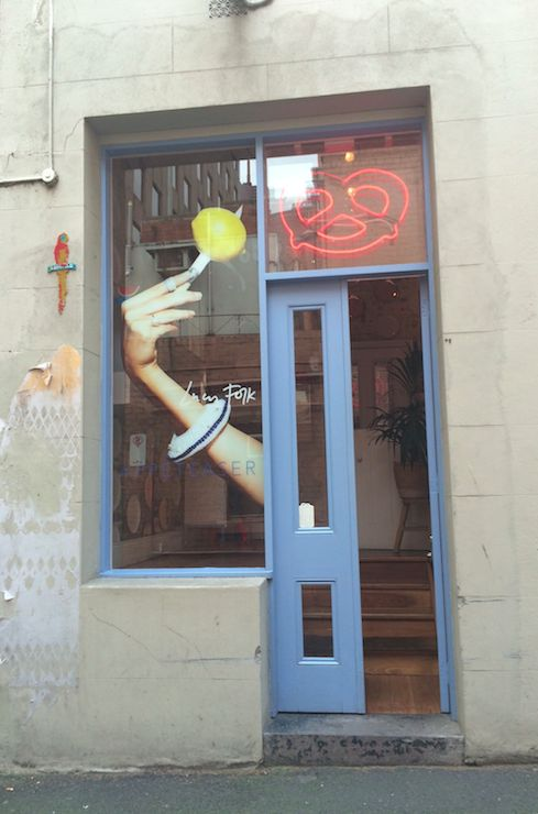 Lucy Folk Flagship 'APPETEASER 2' Window Installation