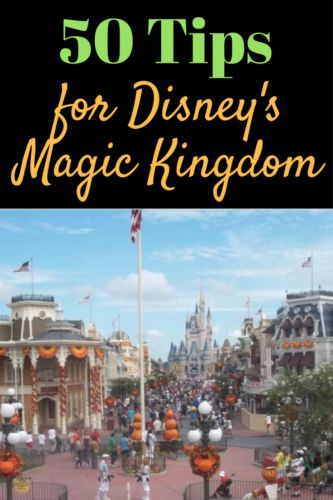 50 Tips for Disney's Magic Kingdom - Couponing to Disney