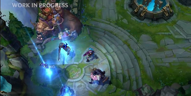 League of Legends - Summoners Rift - Visual Update - Hand Painted Texture Work
