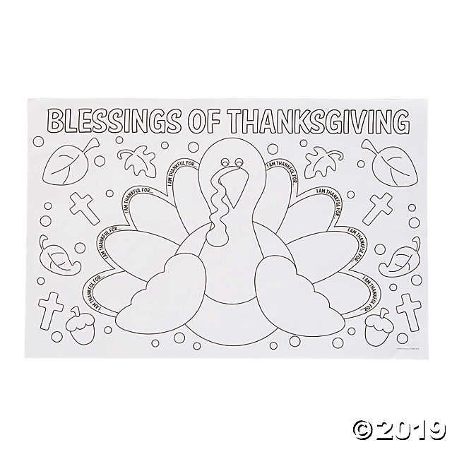 Color Your Own Thankful For Placemats In 2020 Thanksgiving Placemats Kids Thanksgiving Coloring Pages Thanksgiving Coloring Book