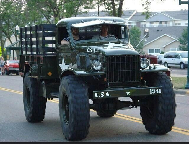 Custom Dodge military truck