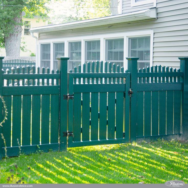 Best illusions vinyl fence images on pinterest