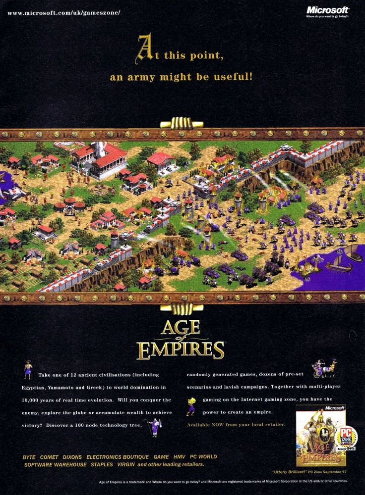 Age of Empires ad Part 2