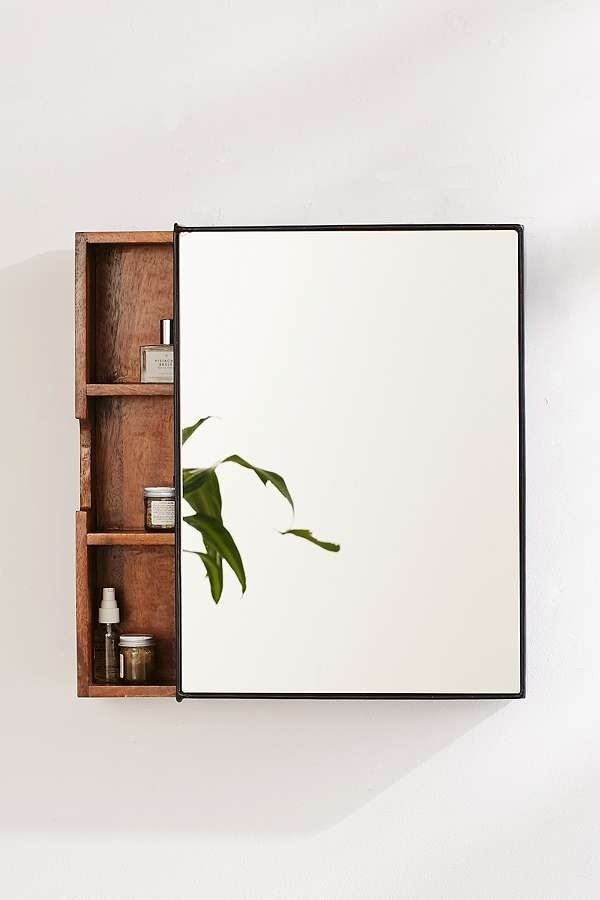 Plymouth Storage Mirror | Urban Outfitters | Home & Gifts | Home Accessories | Mirrors #urbanoutfitterseu #uoeurope
