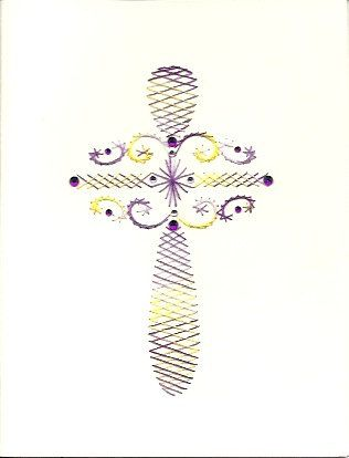 Cross by HandmadeCardsByAnita on Etsy