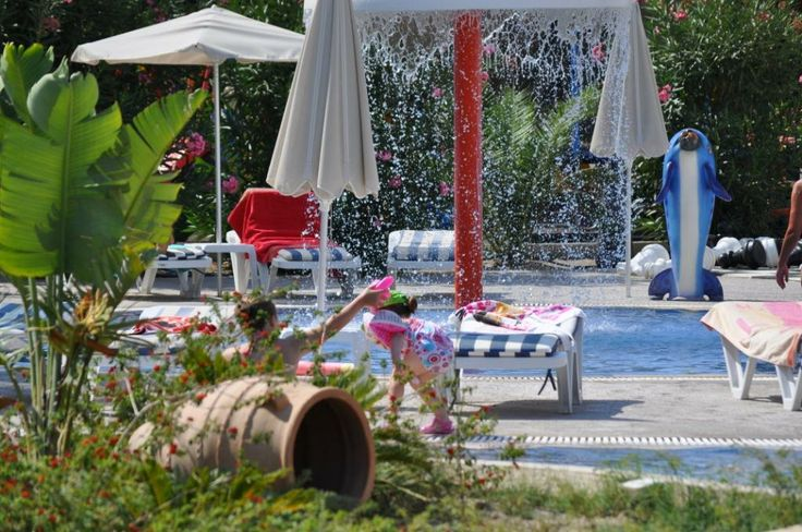 Fun in the sun for all the family with a choice of two pools to choose from #Pefkos #Rhodes #LindianCollection #MatinaPefkos