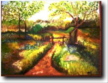 Arta vizuala Pictura Linistea culorilor