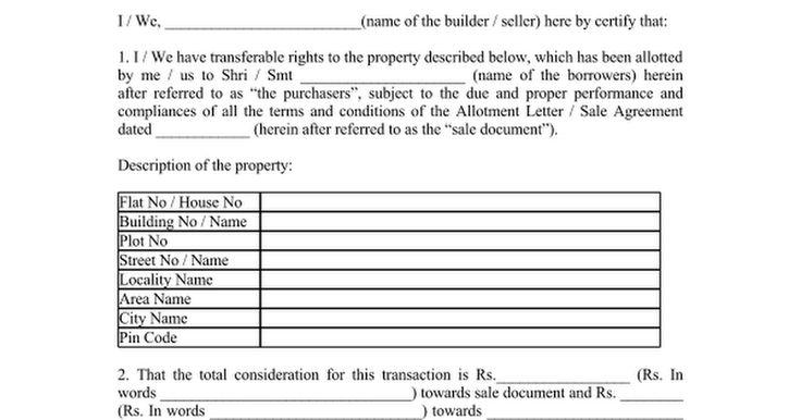 builder noc format google docs flat booking cancellation letter sample