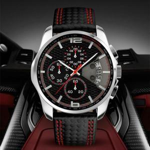 SHARPHY Montre Homme marque de Luxe Sport Chronographe étanche dateur Superbe