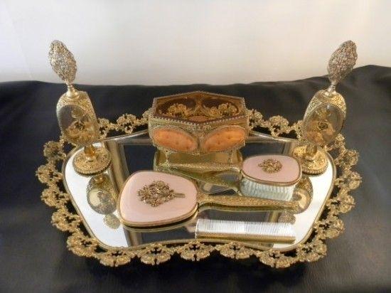 Vanity Tray Set - Foter - 18 Best Vanity Sets Images On Pinterest Vanity, Dressing Tables