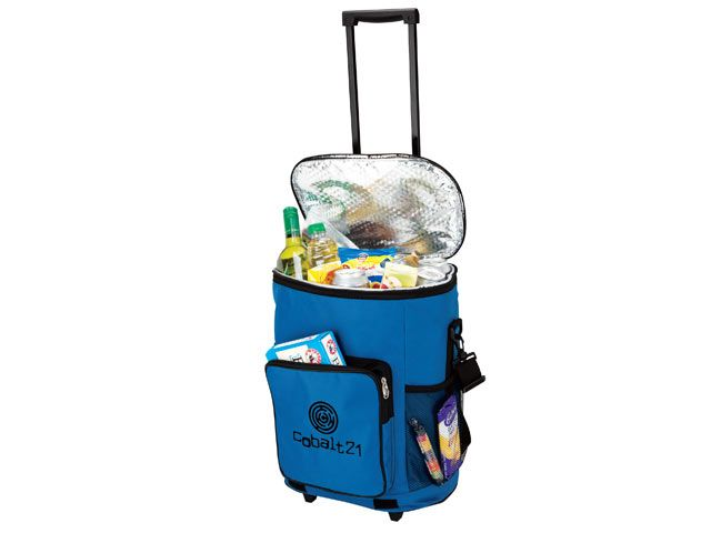 Collapsible Trolley Cooler - 600D/PEVA Lining