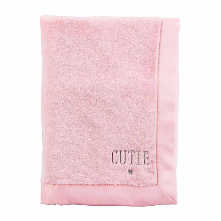 CARTERS Carter's Girl Pink Blanket