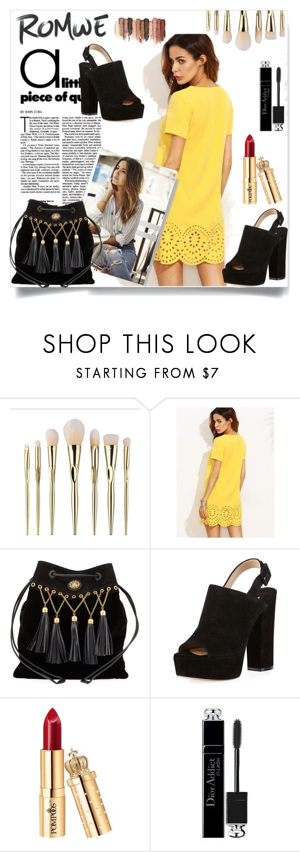 """""""For shopping, open the link in the description"""" by neno-957 ❤ liked on Polyvore featuring Miu Miu, Paul Andrew, Christian Dior and tarte"""
