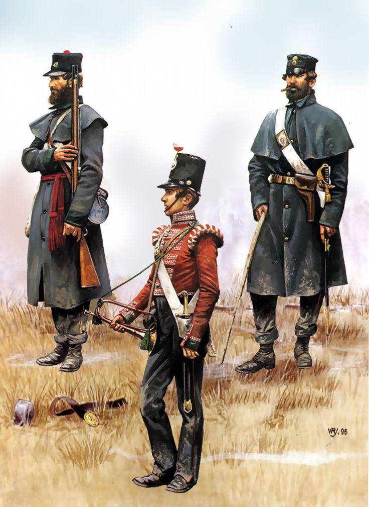 British infantry at the Battle of Inkerman, Crimean War