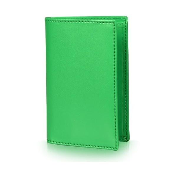 Comme Des Garcons WALLET Classic Line Card Wallet Green (SA6400) |... via Polyvore: Card Wallet, Green Sa6400, For Boys, As