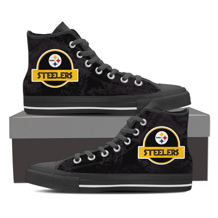 Jurassic Park Pittsburgh Steelers High Top Shoes S1 – Best Funny Store